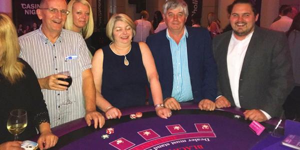 corporate casino hire uk